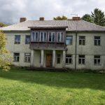 Tęsiamas klebonijos pastato atnaujinimas