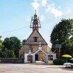 Tęsiami bažnyčios fasado atnaujinimo darbai